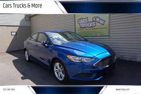2018 Ford Fusion Hybrid for sale at Cars Trucks & More in Howell MI