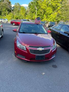 2011 Chevrolet Cruze for sale at Off Lease Auto Sales, Inc. in Hopedale MA