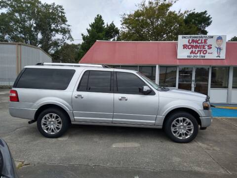 2013 Ford Expedition EL for sale at Uncle Ronnie's Auto LLC in Houma LA