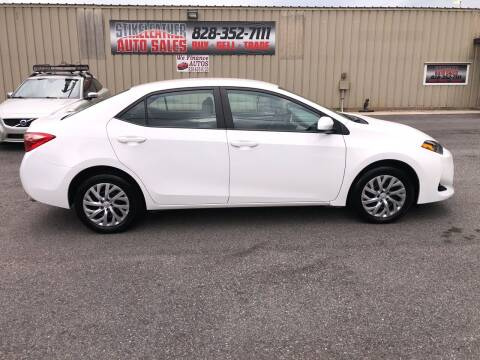 2019 Toyota Corolla for sale at Stikeleather Auto Sales in Taylorsville NC