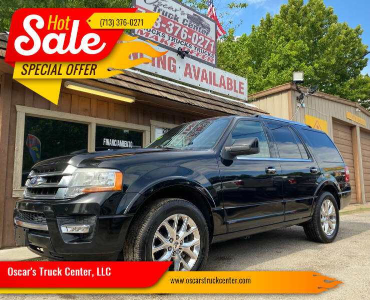 2016 Ford Expedition for sale at Oscar's Truck Center, LLC in Houston TX