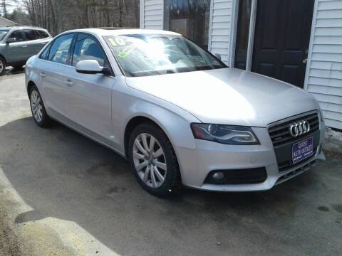 2010 Audi A4 for sale at Quest Auto Outlet in Chichester NH