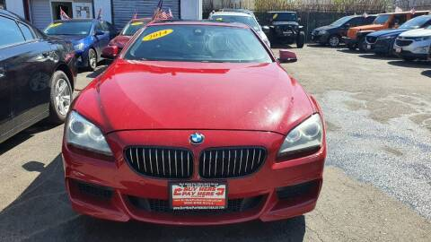 2014 BMW 6 Series for sale at Buy Here Pay Here Auto Sales in Newark NJ