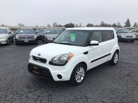 2012 Kia Soul for sale at My Three Sons Auto Sales in Sacramento CA
