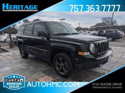 2016 Jeep Patriot for sale at Heritage Motor Company in Virginia Beach VA