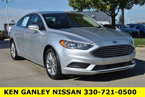 2017 Ford Fusion for sale at Ken Ganley Nissan in Medina OH