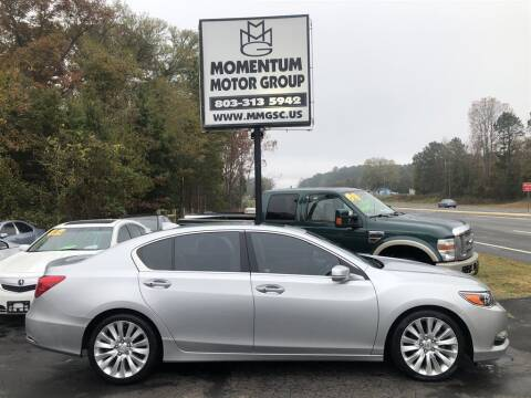 2014 Acura RLX for sale at Momentum Motor Group in Lancaster SC