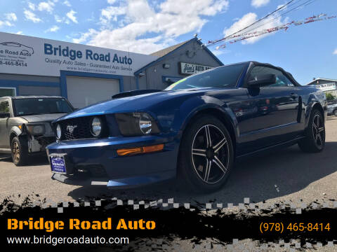 2008 Ford Mustang for sale at Bridge Road Auto in Salisbury MA