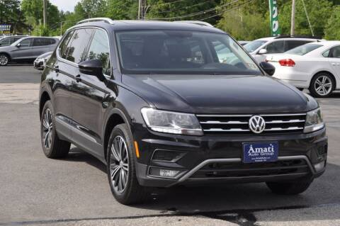 2018 Volkswagen Tiguan for sale at Amati Auto Group in Hooksett NH