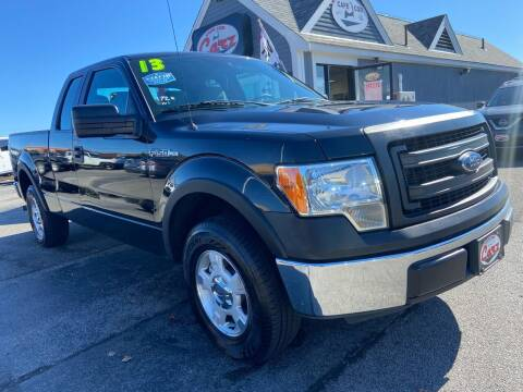 2013 Ford F-150 for sale at Cape Cod Carz in Hyannis MA