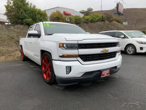 2018 Chevrolet Silverado 1500 for sale at Guy Strohmeiers Auto Center in Lakeport CA
