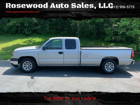 2006 Chevrolet Silverado 1500 for sale at Rosewood Auto Sales, LLC in Hamilton OH