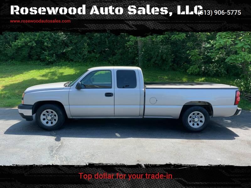 2006 Chevrolet Silverado 1500 for sale at Rosewood Auto Sales, LLC in Hamilton OH