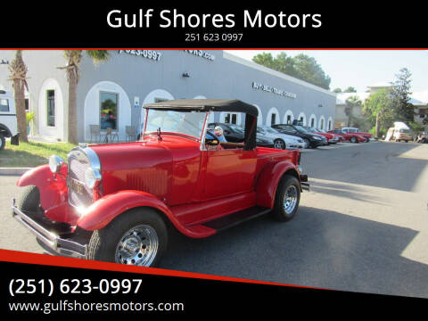 1928 Ford Model A for sale at Gulf Shores Motors in Gulf Shores AL