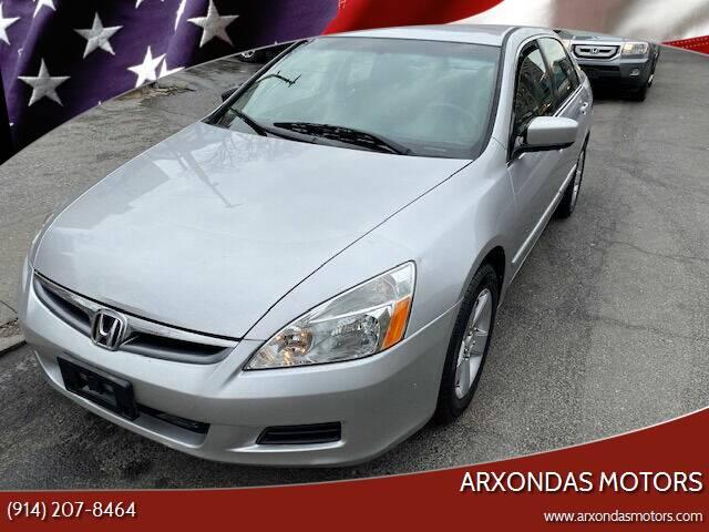 2007 Honda Accord for sale at ARXONDAS MOTORS in Yonkers NY