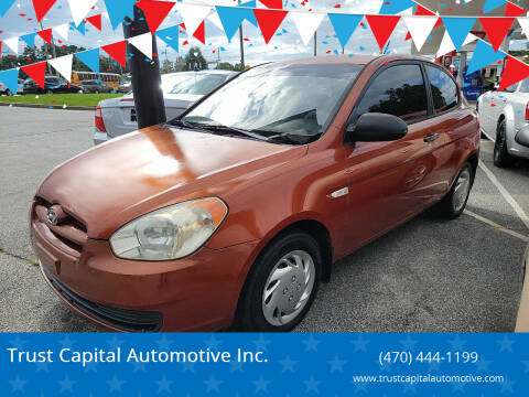 2009 Hyundai Accent for sale at Trust Capital Automotive Inc. in Covington GA
