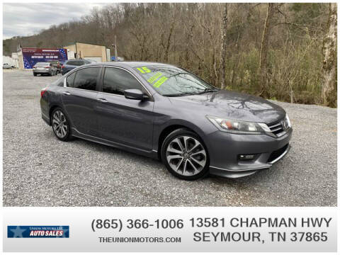 2015 Honda Accord for sale at Union Motors in Seymour TN