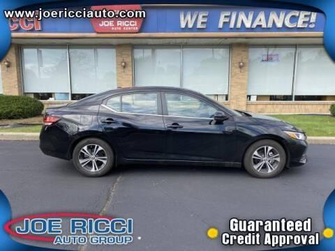 2020 Nissan Sentra for sale at JOE RICCI AUTOMOTIVE in Clinton Township MI