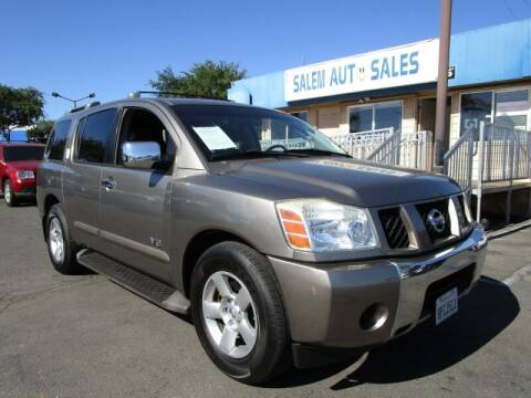 2007 Nissan Armada for sale at Salem Auto Sales in Sacramento CA