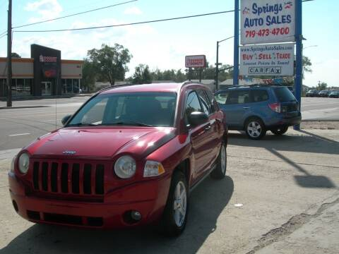 2008 Jeep Compass for sale at Springs Auto Sales in Colorado Springs CO