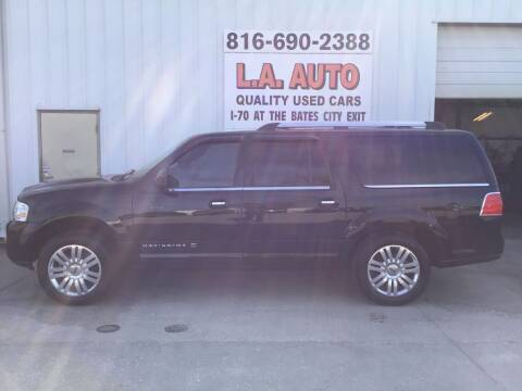 2012 Lincoln Navigator L for sale at LA AUTO in Bates City MO