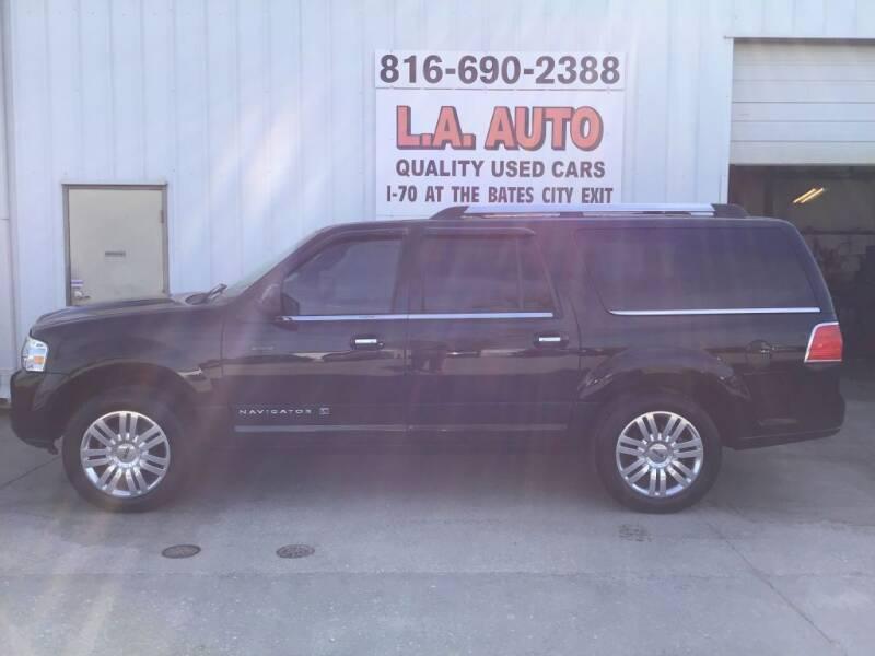 2012 Lincoln Navigator L for sale at LA AUTO in Bates City MO