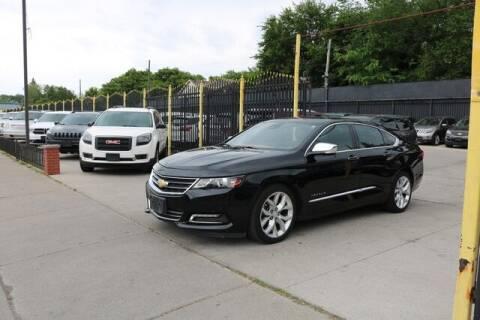 2015 Chevrolet Impala for sale at F & M AUTO SALES in Detroit MI