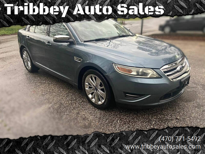 2010 Ford Taurus for sale at Tribbey Auto Sales in Stockbridge GA