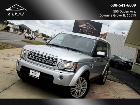 2012 Land Rover LR4 for sale at Alpha Luxury Motors in Downers Grove IL