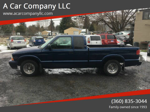2000 GMC Sonoma for sale at A Car Company LLC in Washougal WA