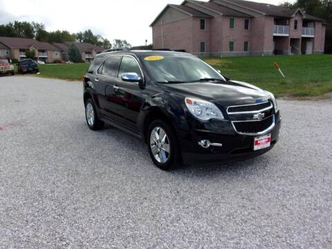 2015 Chevrolet Equinox for sale at BABCOCK MOTORS INC in Orleans IN