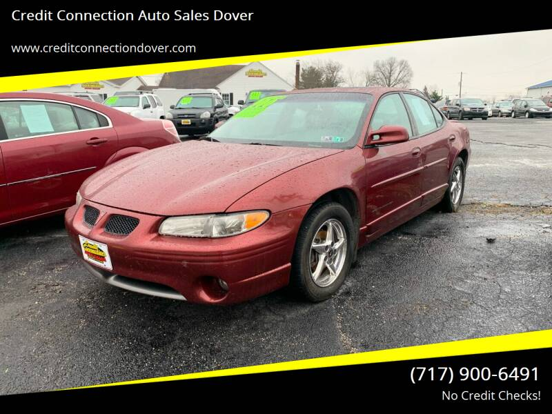 2002 Pontiac Grand Prix for sale at Credit Connection Auto Sales Dover in Dover PA