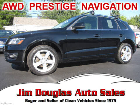 2010 Audi Q5 for sale at Jim Douglas Auto Sales in Pontiac MI