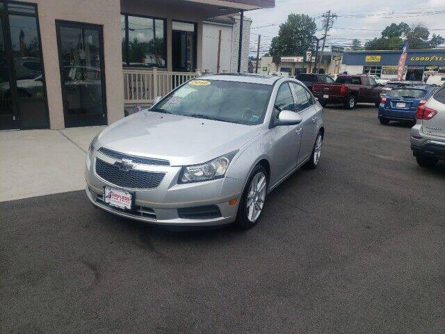 2012 Chevrolet Cruze for sale at PAYLESS CAR SALES of South Amboy in South Amboy NJ