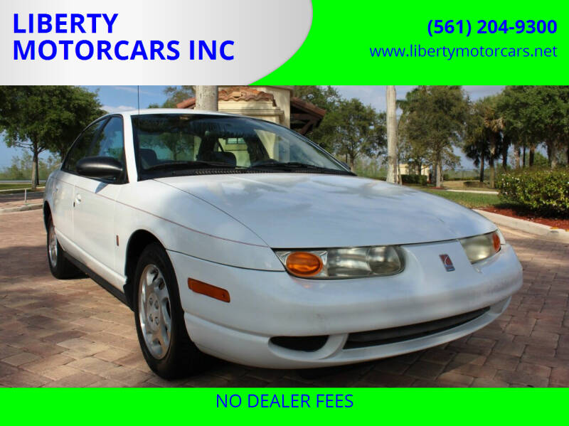 2000 Saturn S-Series for sale at LIBERTY MOTORCARS INC in Royal Palm Beach FL