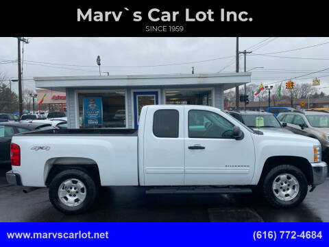 2013 Chevrolet Silverado 1500 for sale at Marv`s Car Lot Inc. in Zeeland MI