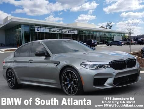 2019 BMW M5 for sale at Carol Benner @ BMW of South Atlanta in Union City GA