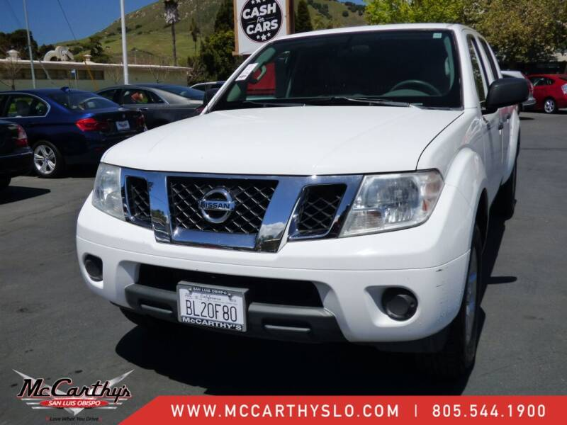 2012 Nissan Frontier for sale at McCarthy Wholesale in San Luis Obispo CA