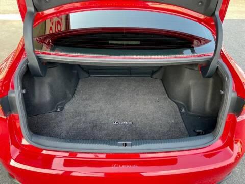 2017 Lexus IS 200t for sale at Sandlot Autos in Tyler TX