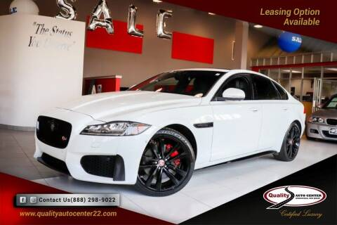 2016 Jaguar XF for sale at Quality Auto Center of Springfield in Springfield NJ