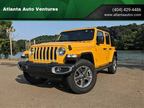 2019 Jeep Wrangler Unlimited for sale at Atlanta Auto Ventures in Roswell GA