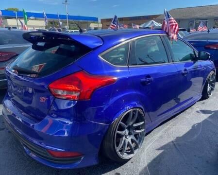 2015 Ford Focus for sale at FRANCIA MOTORS in El Paso TX