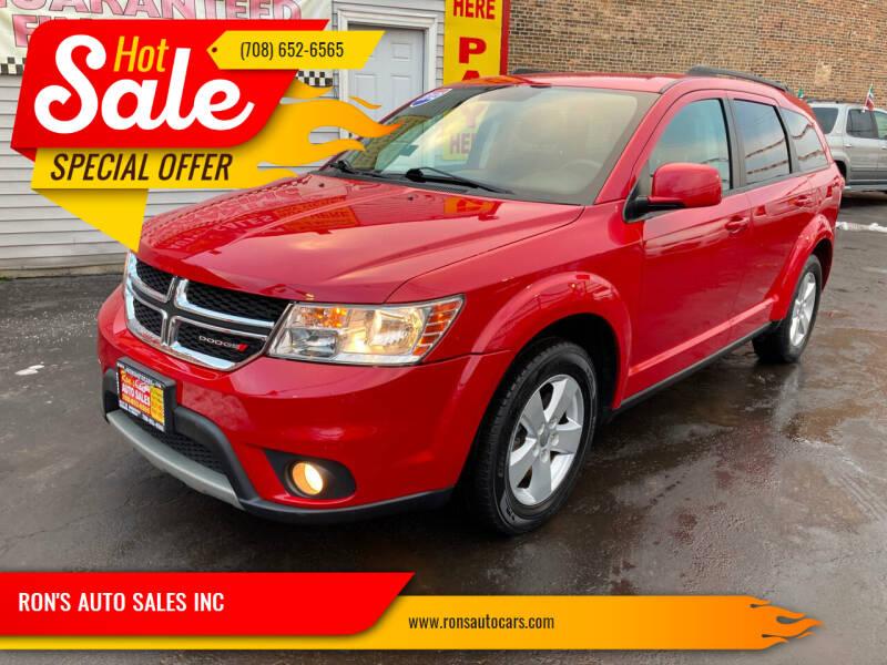 2012 Dodge Journey for sale at RON'S AUTO SALES INC in Cicero IL