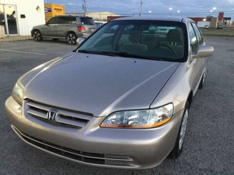2002 Honda Accord for sale at LOWEST PRICE AUTO SALES, LLC in Oklahoma City OK