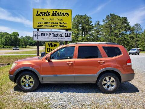 2009 Kia Borrego for sale at Lewis Motors LLC in Deridder LA