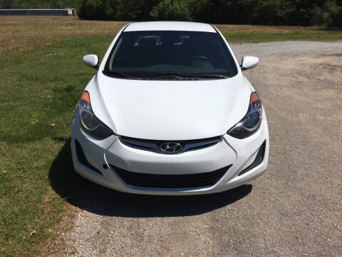 2013 Hyundai Elantra for sale at Tennessee Valley Wholesale Autos LLC in Huntsville AL