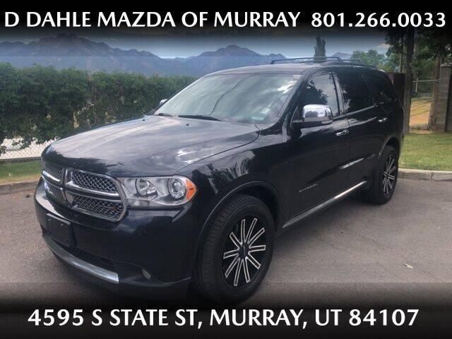 2013 Dodge Durango for sale at D DAHLE MAZDA OF MURRAY in Salt Lake City UT