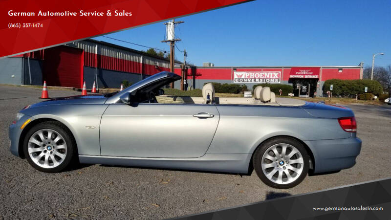 2007 BMW 3 Series for sale at German Automotive Service & Sales in Knoxville TN