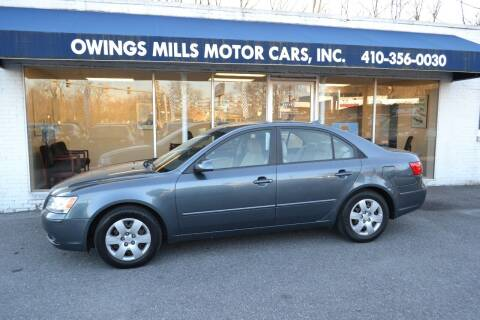 2010 Hyundai Sonata for sale at Owings Mills Motor Cars in Owings Mills MD