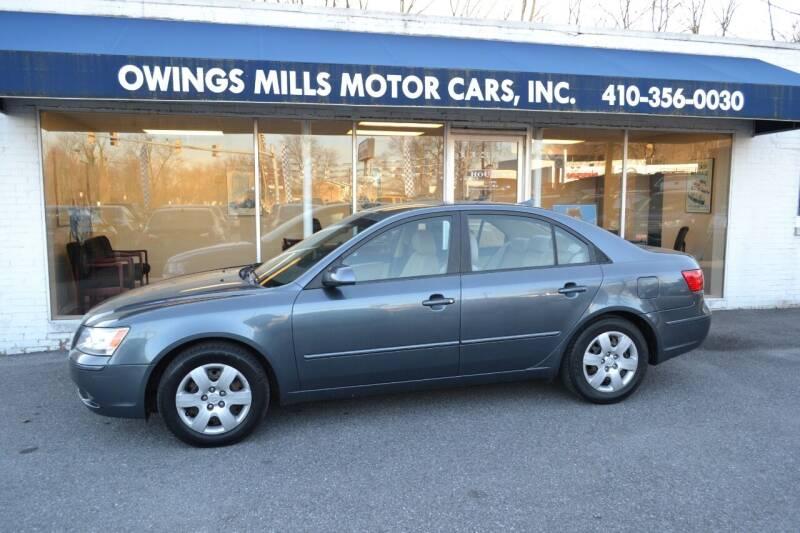 2010 Hyundai Sonata for sale at Owings Mills Motor Cars in Owings Mills MD